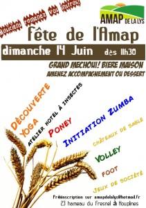 Fête AMAP juin 2015
